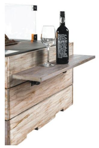 Houten Side Table NICE & NASTY