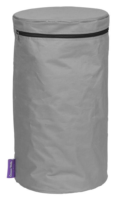 PVC cover grijs