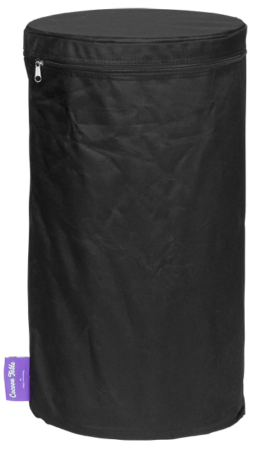 PVC cover zwart